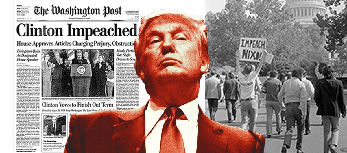 در روزهای اخیر جنجال آفرینی دیگری از دونالد ترامپ باعث شده که شانس دموکرات ها برای استیضاح دونالد ترامپ بیش از هر زمان دیگری باشد به طوری که نانسی پلوسی، روز سه شنبه اعلام کرد که مجلس نمایندگان به طور رسمی درخواست استیضاح دونالد ترامپ را ارائه خواهد داد