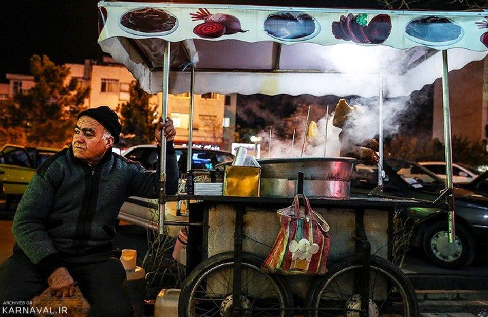 غذاهای خیابانی تبریز1
