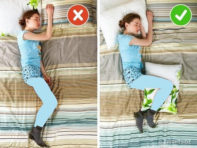 بهبود حالت خوابیدن