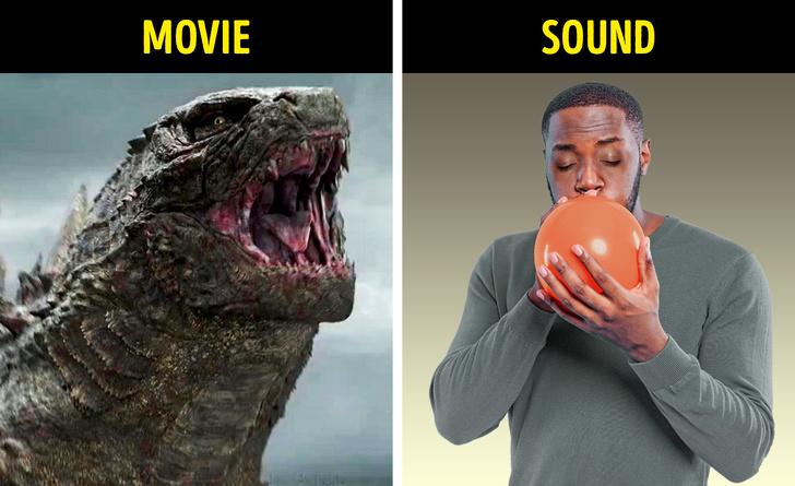 افکت های صوتی فیلم ها
