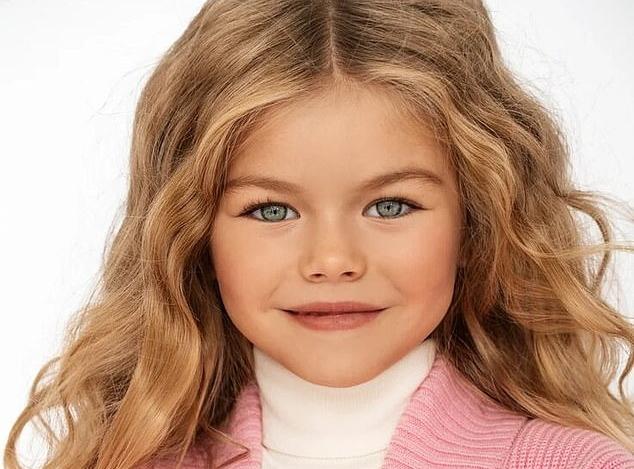 آلینا یاکوپووا؛ مدل ۶ ساله روسی و «زیباترین دختر جهان» با ۲۲٫۰۰۰ فالوور اینستاگرامی