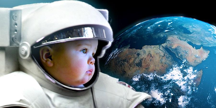 اگر انسان ها در فضا به دنیا می آمدند چه شکلی می شدند؟