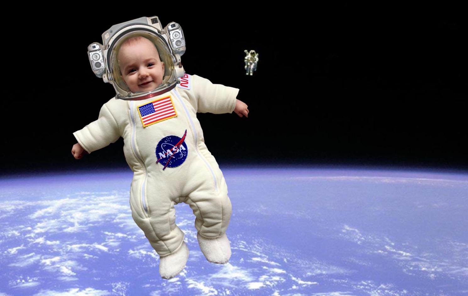 زایمان در فضا