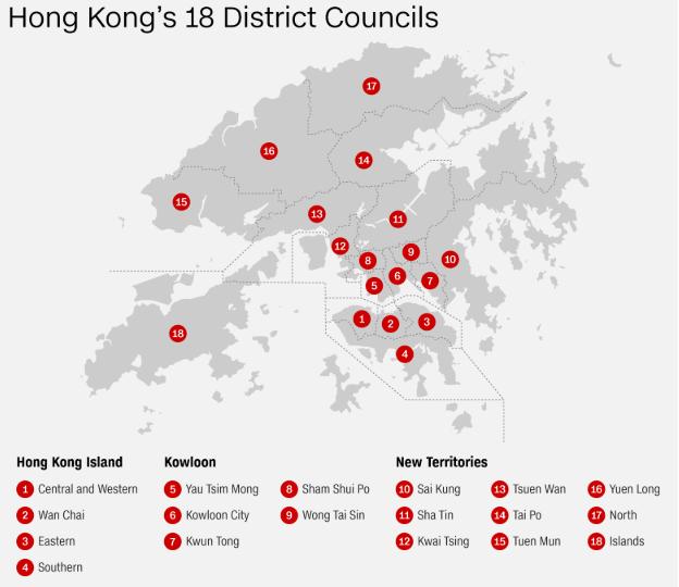 شهروندان هنگ کنگ پس از ماه ها اعتراضات منسجم و سازمان یافته، روز یکشنبه به پای صندوق های رأی می روند، انتخاباتی که شبیه یک رفراندوم است.