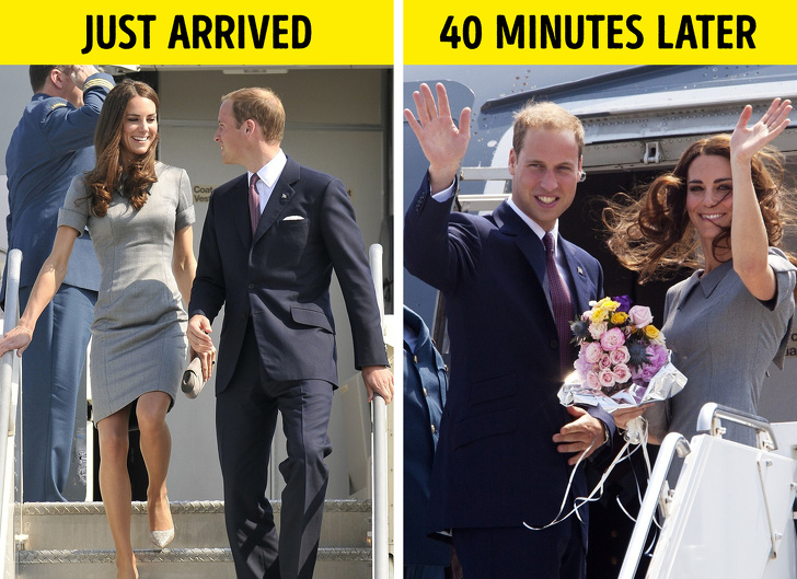 سفرهای خاندان سلطنتی بریتانیا