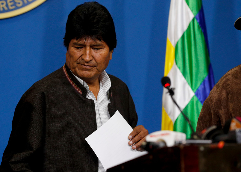چه شد که «اوو مورالس» علیرغم پیروزی در انتخابات ریاست جمهوری بولیوی کنارهگیری کرد؟