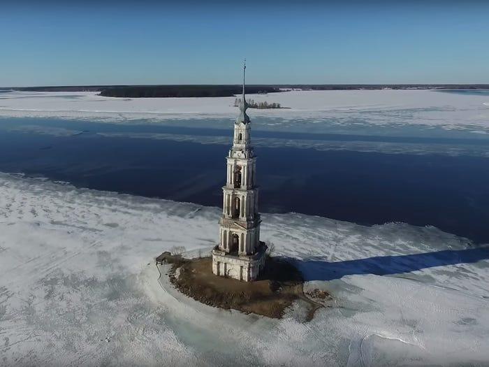 شهرهای زیر آب جهان