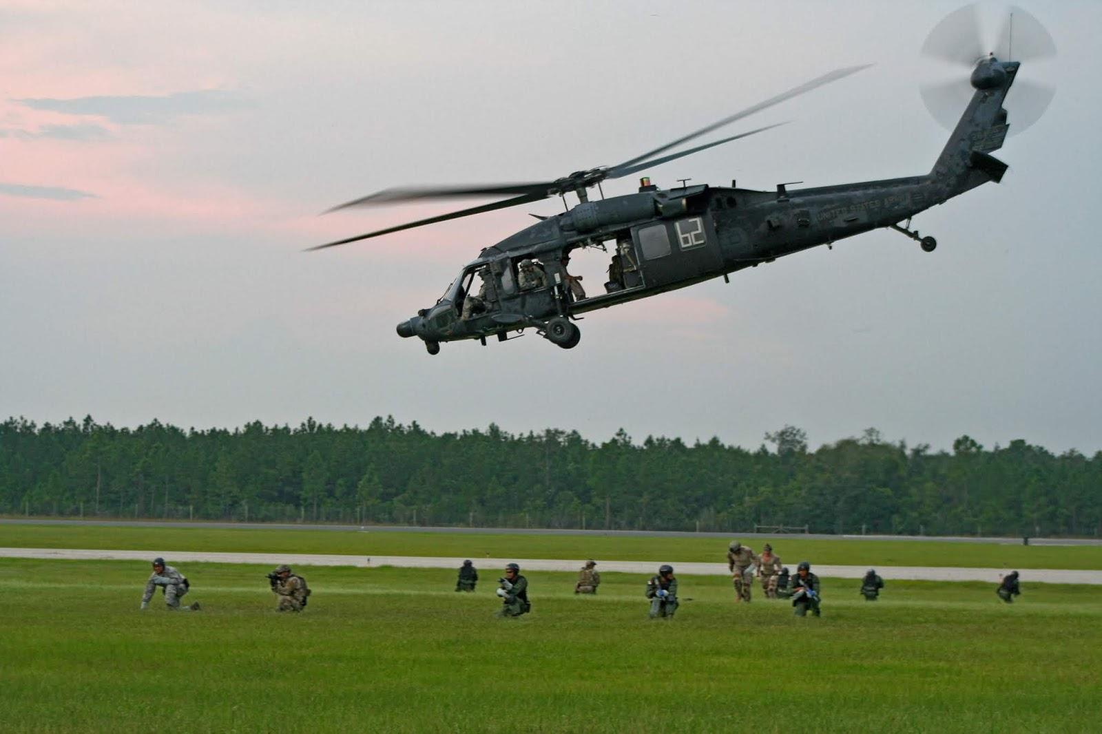 هلیکوپترهایی که در عملیات کشتن ابوبکر البغدادی، رهبر داعش، شرکت کردند از بهترین هلیکوپترهای ارتش ایالات متحده بودند که برای انتقال کماندوهای آمریکایی برای عملیاتهای با ریسک بسیار بالا طراحی شده اند.