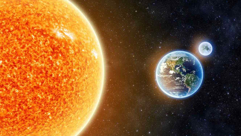 گردش زمین به دور خورشید