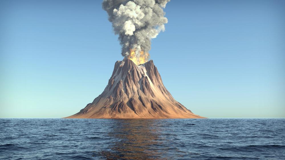 یک آتشفشان را دروازه یا دریچه ای روی سطح زمین دانست که سنگ های مذابی که از قشر فوقانی می آیند از طریق آن به سطح زمین می رسند.