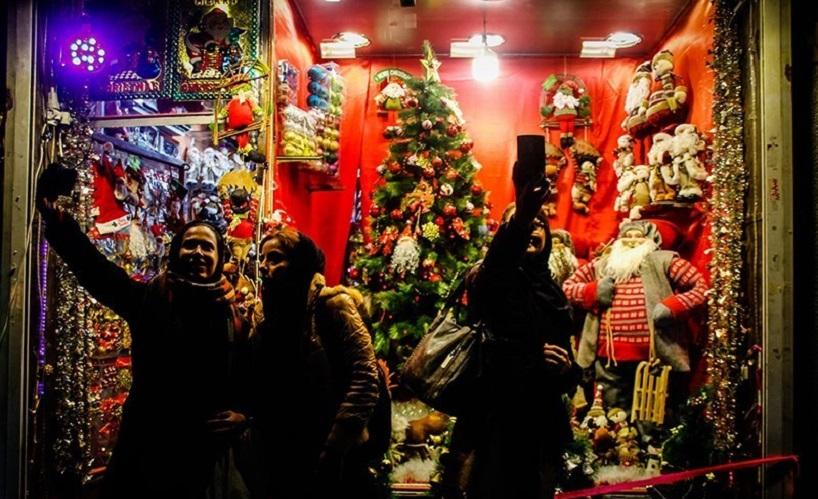 فروش میلیاردی تجهیزات کریسمس به تهرانیهای غیر مسیحی