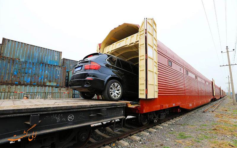 خرید بلیط قطار برای خودروی سواری