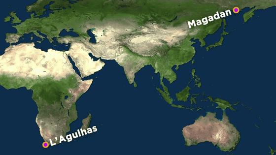 طولانی ترین مسیر قابل پیاده روی کره زمین؛ از آفریقای جنوبی تا روسیه به طول 22.500 کیلومتر