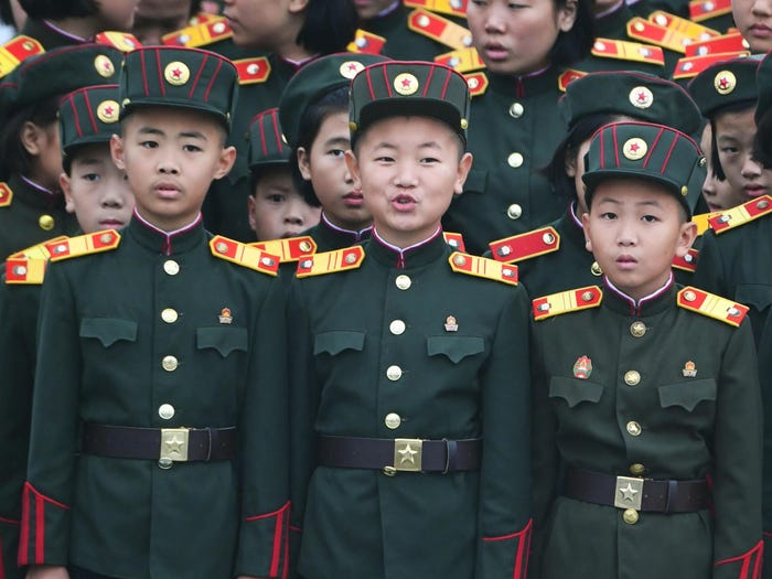 استایل رهبر کره شمالی کیم جونگ اون
