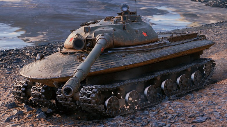 تانک Object 279 Kotin یک ابرتانک 60 تنی ساخته شده توسط اتحاد جماهیر شوروی بود که به دلیل ساختار بشقابی شکلش در برابر حملات هسته ای مقاوم بود.