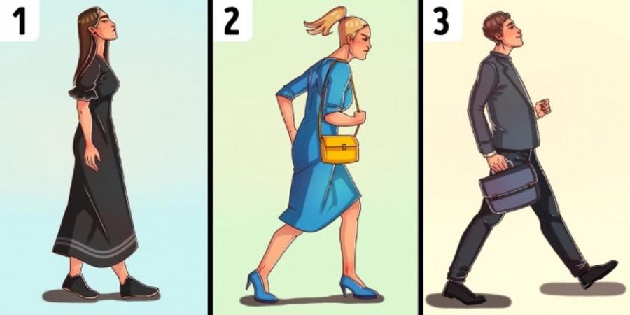طرز راه رفتن شما رازهای زیادی را درباره شخصیت تان برملا می کند