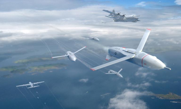 پهپاد X-61 Gremlin؛ سیستم نظامی بدون سرنشین جدید مستقر در ناوهای هواپیمابر پرنده