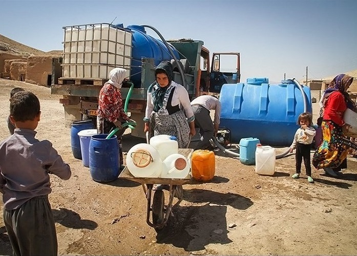 مصرف آب در ایران