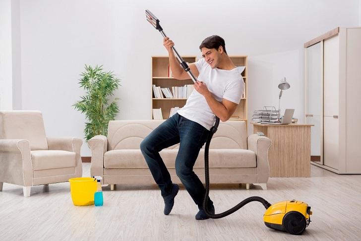 فواید انجام کارهای خانه