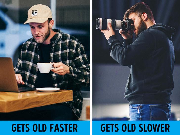 عادت هایی که باعث پیری می شوند