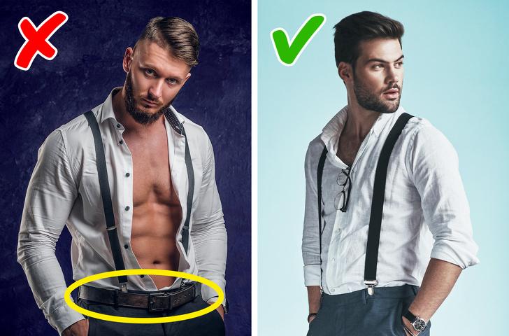 می خواهیم اشتباهات معمولی که مردان در شیوه لباس پوشیدن انجام داده و علیرغم هزینه زیاد برای خرید لباس، جذابیت را از آن ها می گیرد آشنا کنیم.
