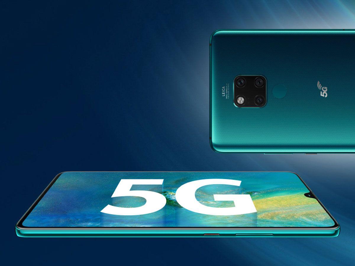 هوآوی در صدر گوشیهای هوشمند 5G