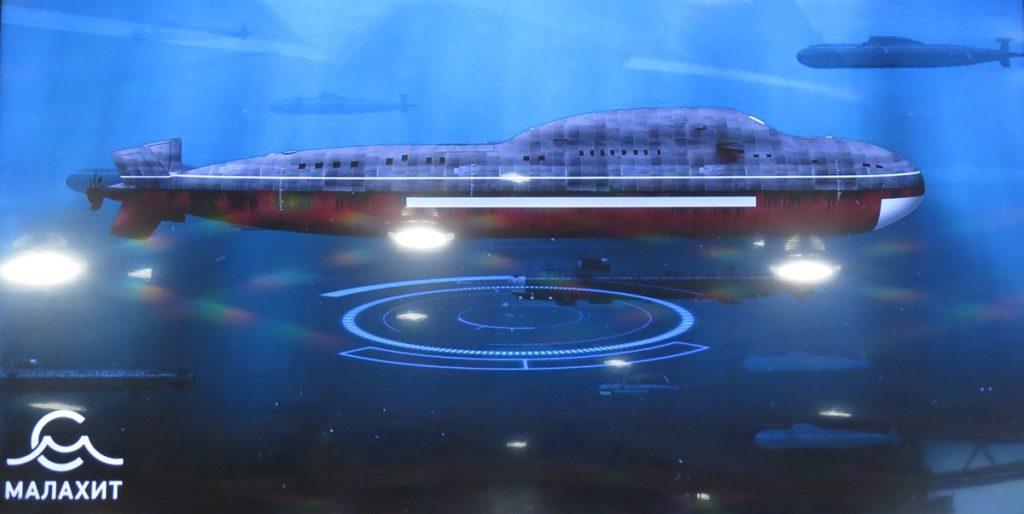 Laika؛ رونمایی از جدیدترین و پیشرفته ترین کلاس زیردریایی هسته ای روسیه