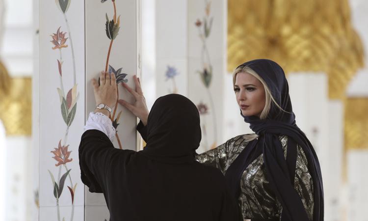 ایوانکا ترامپ، دختر اول و مشاور ویژه رییس جمهور ایالات متحده، از سخنرانان کلیدی نشست دو روزه مجمع جهانی زنان بوده که امروز و فردا در دبی برگزار خواهد شد.