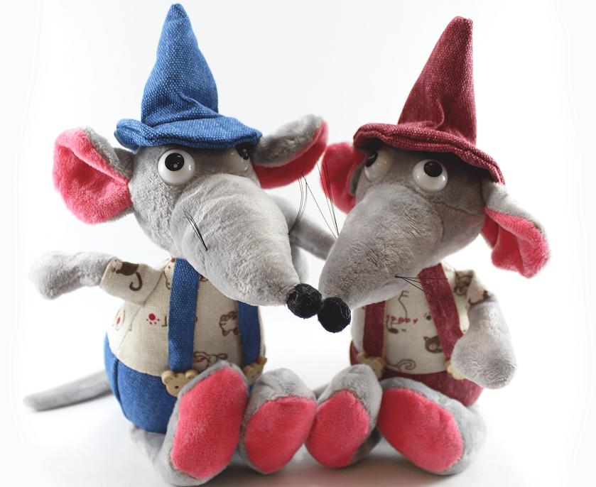 ایدههای کادو برای روز ولنتاین 1398؛ عروسکهای موش