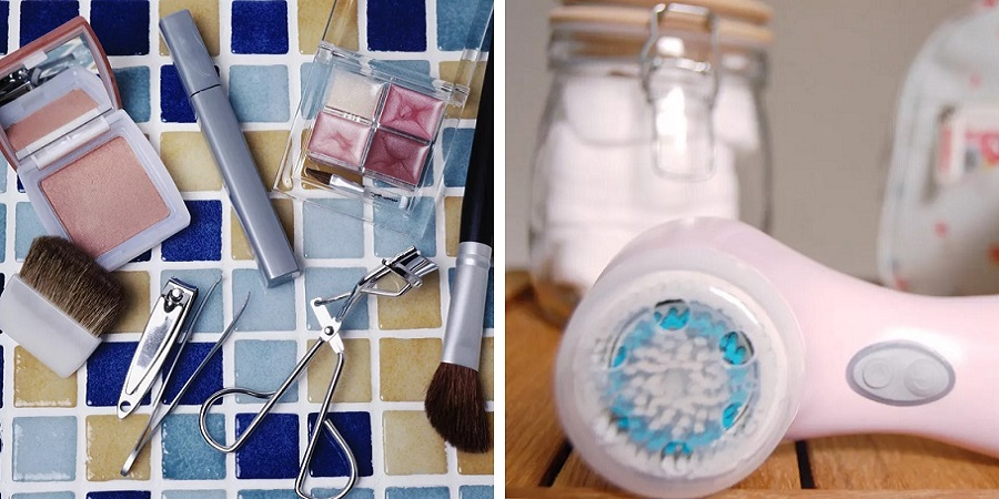 لوازم آرایشی و بهداشتی خود را چطور تمیز کنیم؟