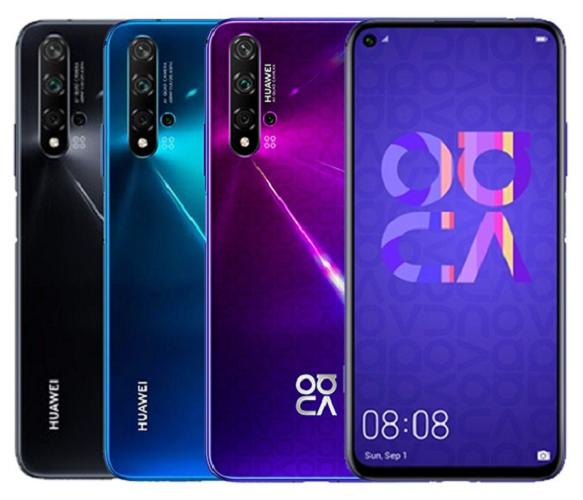 گوشی هوشمند هوآوی nova 5T