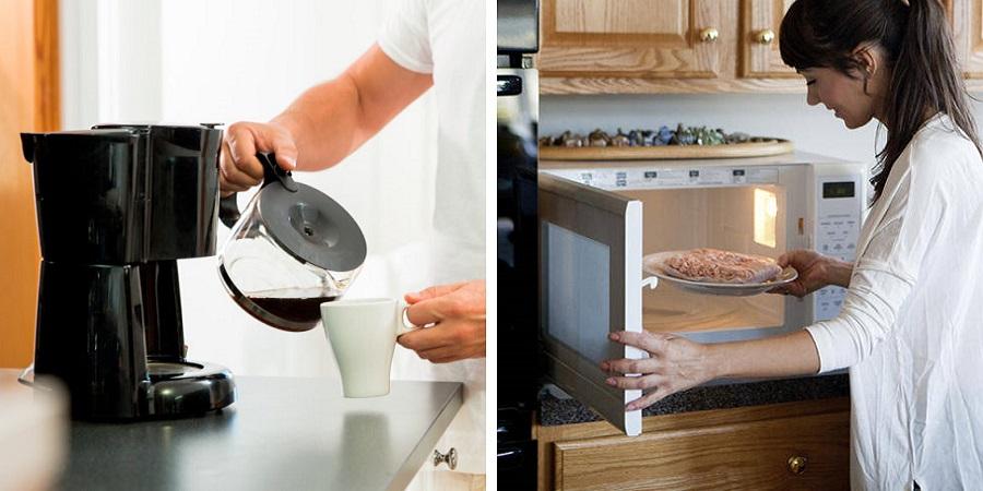 مایکروفر ، قهوه ساز ، آون توستر ؛ چطور تمیزشان کنیم؟