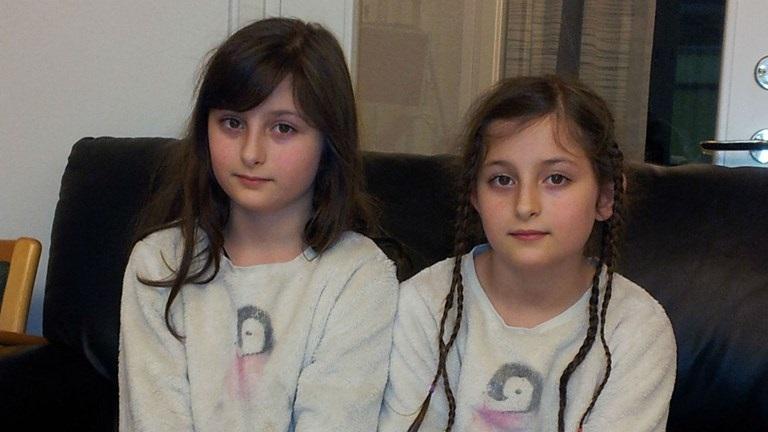 عکس سارا و نیکا فرقانی اصل بدون روسری