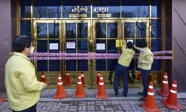 شهر دائه گو در جنوب کره جنوبی که مرکز شیوع ویروس کرونا در این کشور شناخته می شود، خانه کلیسای بزرگ یک فرقه مذهبی به نام شین چئونجی است.