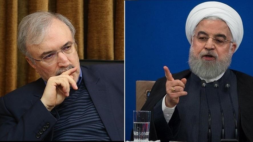 کشتار کرونا در ایران: هر ۱۰ دقیقه ۱ نفر؛ نامه هشدار وزیر بهداشت به رئیس جمهور