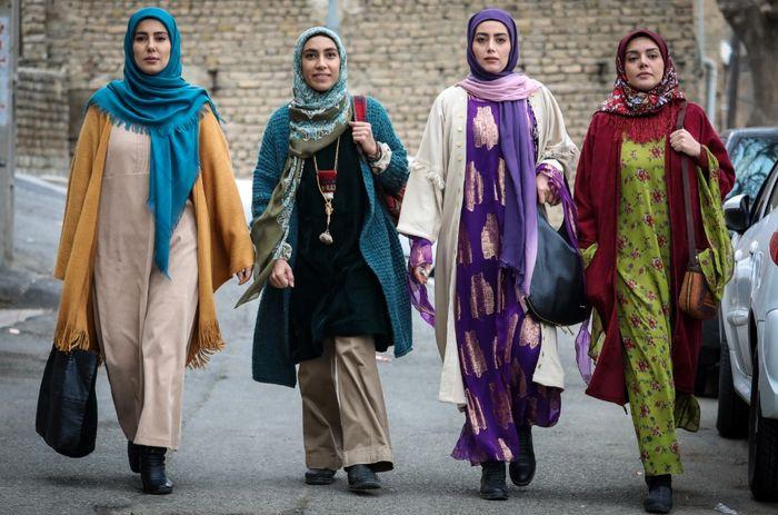 دختران «نورالدین خانزاده» در «نون خ ۲» : شیدا، مرجان، کژال و روژان