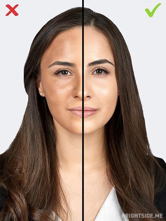 1 1506521577 اشتباهات آرایشی ؛ ۱۰ اشتباه رایج خانم ها در آرایش که سنشان را بالا می برد