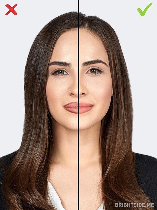 10 1484650116 اشتباهات آرایشی ؛ ۱۰ اشتباه رایج خانم ها در آرایش که سنشان را بالا می برد