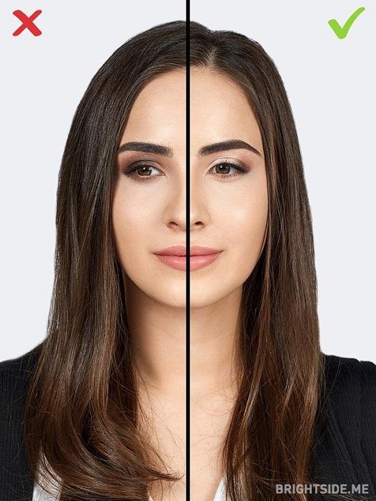 4 1484650116 اشتباهات آرایشی ؛ ۱۰ اشتباه رایج خانم ها در آرایش که سنشان را بالا می برد