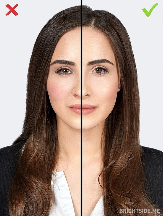 7 1484650116 اشتباهات آرایشی ؛ ۱۰ اشتباه رایج خانم ها در آرایش که سنشان را بالا می برد