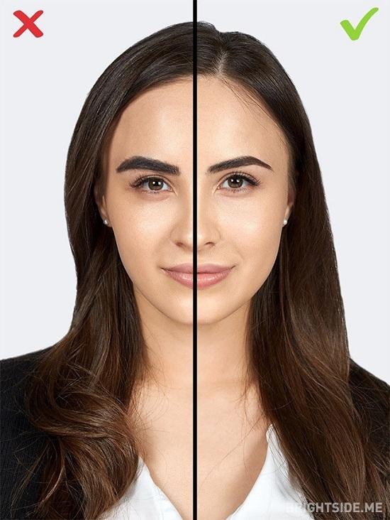8 1484650116 اشتباهات آرایشی ؛ ۱۰ اشتباه رایج خانم ها در آرایش که سنشان را بالا می برد
