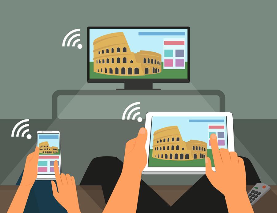 چگونه گوشی موبایل را به تلویزیون هوشمند وصل کنیم ؟