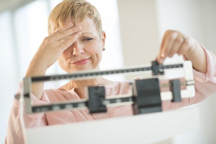 افزایش وزن در دوران یائسگی