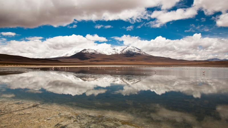بزرگ ترین آینه طبیعی دنیا