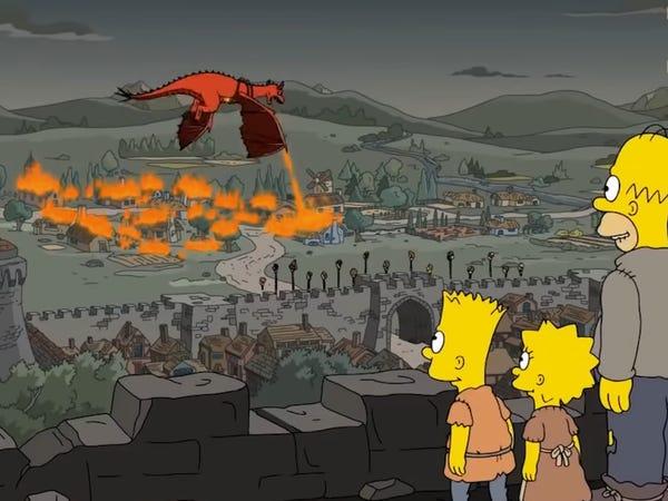 پیشگویی های کارتون سیمپسون ها