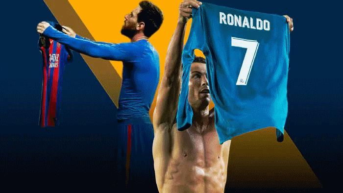 شبی که کریستیانو رونالدو برای تمسخر شادی پس از گل لیونل مسی بهای سنگینی پرداخت