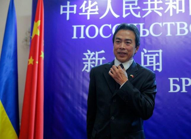 سفیر چین در اسرائیل