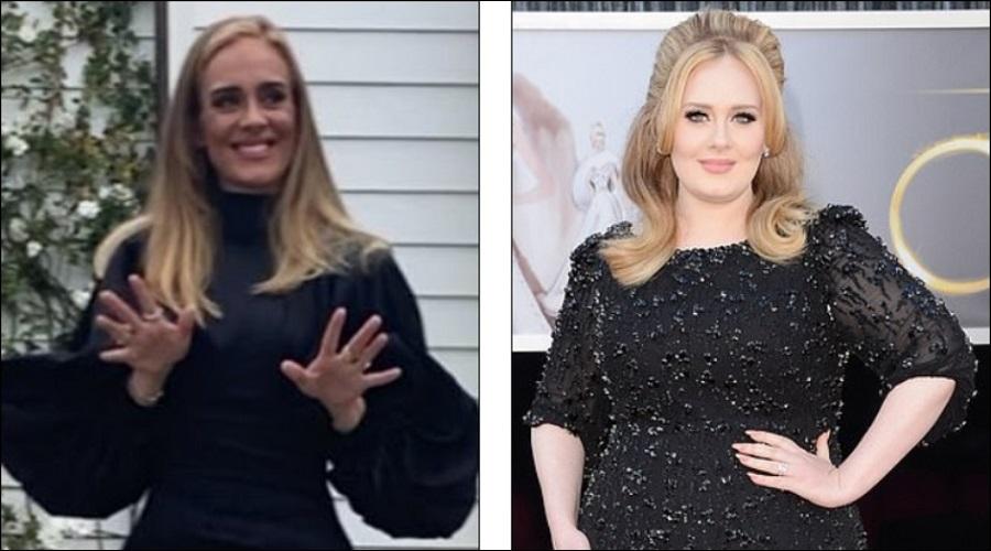عکس های جدید ادل بعد از کاهش وزن ۴۵ کیلوگرمی اش