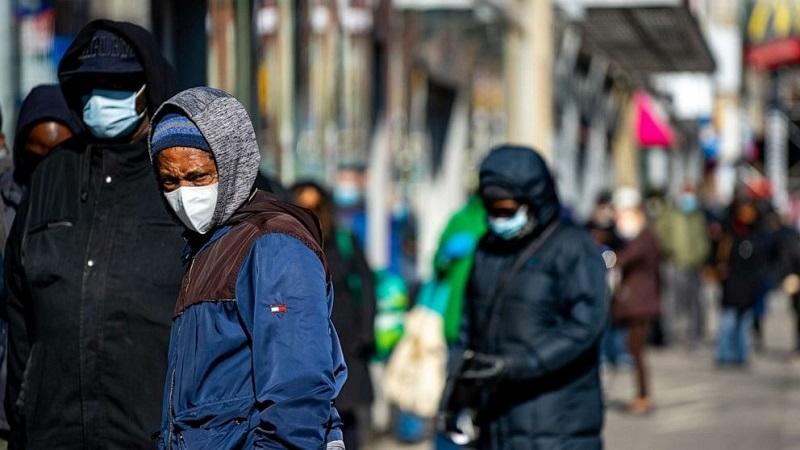 مرگ بر اثر ویروس کرونا در سیاهپوستان