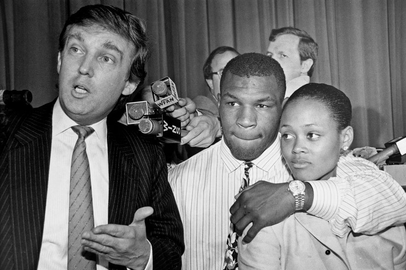 https://www.dailymail.co.uk/news/article-8282283/Keep-punching-Mike-Trump-retweets-video-Mike-Tyson-sparring-53-frightening-speed.html